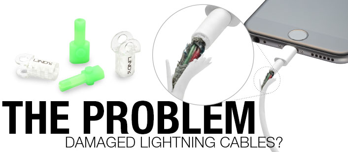 Lightning Cable Protectors - The Problem