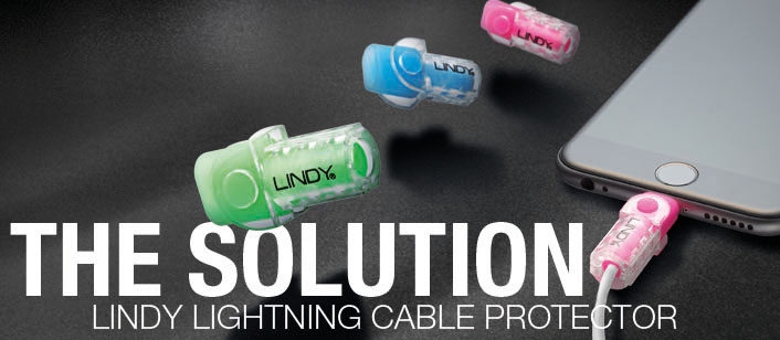 Lightning Cable Protectors - The Solution