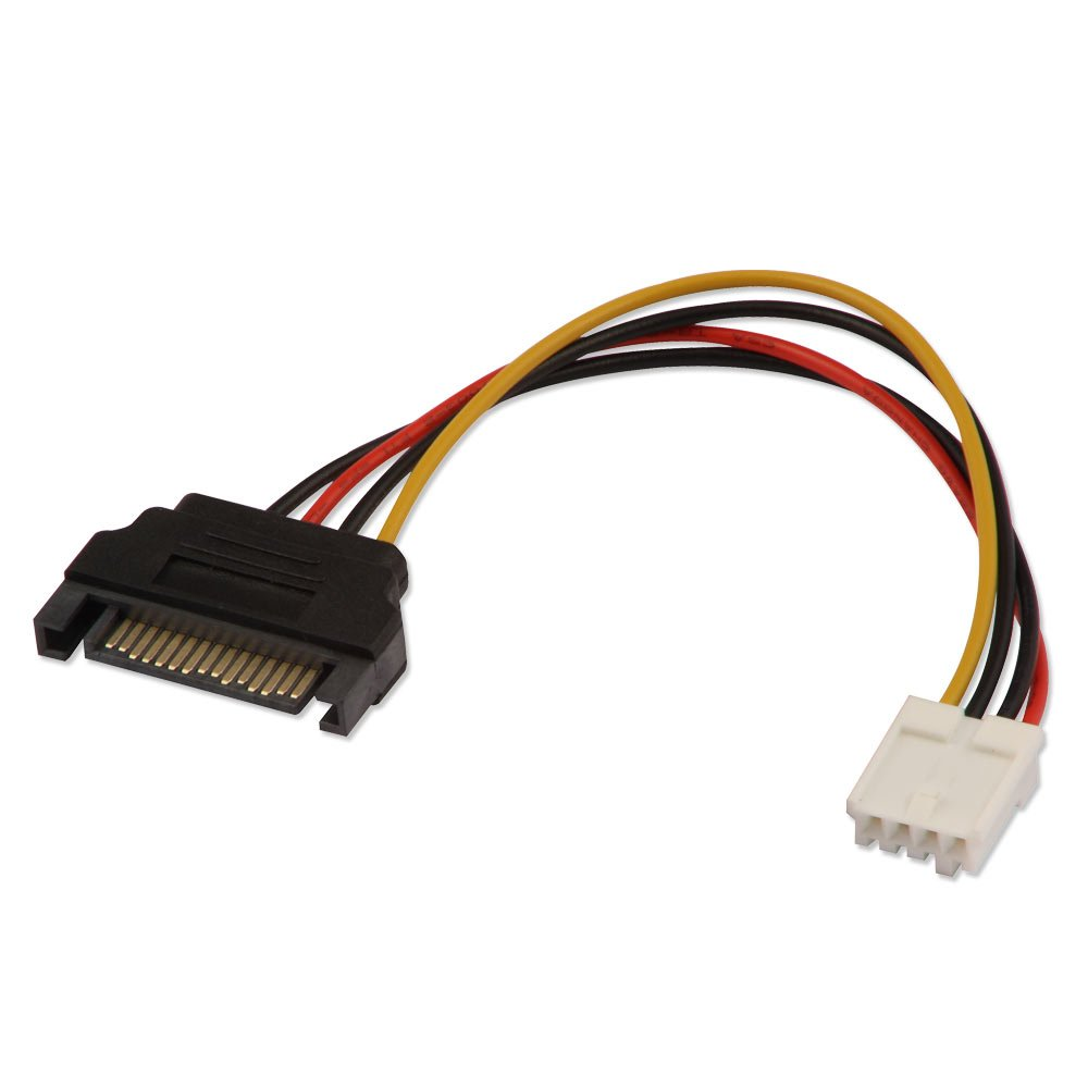 0 15m Power Adapter Sata Power To 3 5 Quot Power From Lindy Uk
