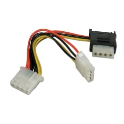 0.15m SATA Power Adapter Splitter Cable
