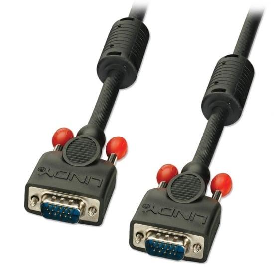 0.25m Premium SVGA Monitor Cable, Black