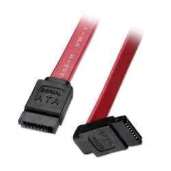 0.2m SATA Cable - Short Right-Angled (90°) Connector