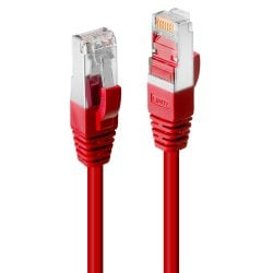 0.3m Cat.6 S/FTP LSZH Network Cable, Red