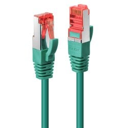 0.3m Cat.6 S/FTP Network Cable, Green