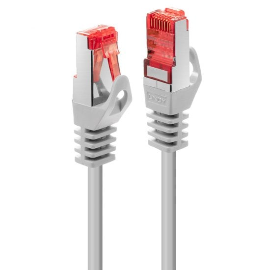 0.3m Cat.6 S/FTP Network Cable, Grey