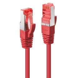 0.3m Cat.6 S/FTP Network Cable, Red