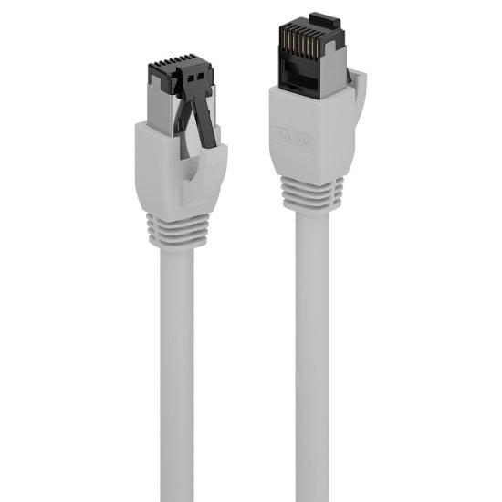 0.3m Cat.8.1 S/FTP LSZH Cable, Grey