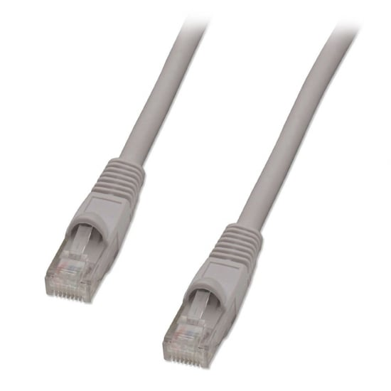 0.3m CAT5e U/UTP Snagless Network Cable, Grey