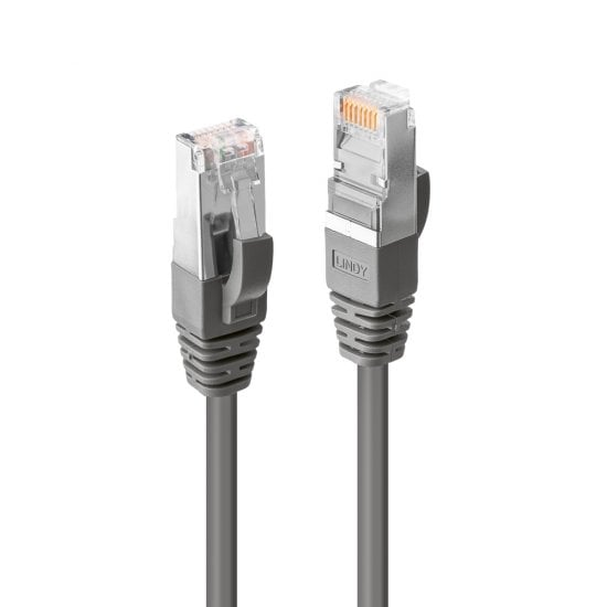 0.3m CROMO Cat.6 S/FTP Network Cable, Grey