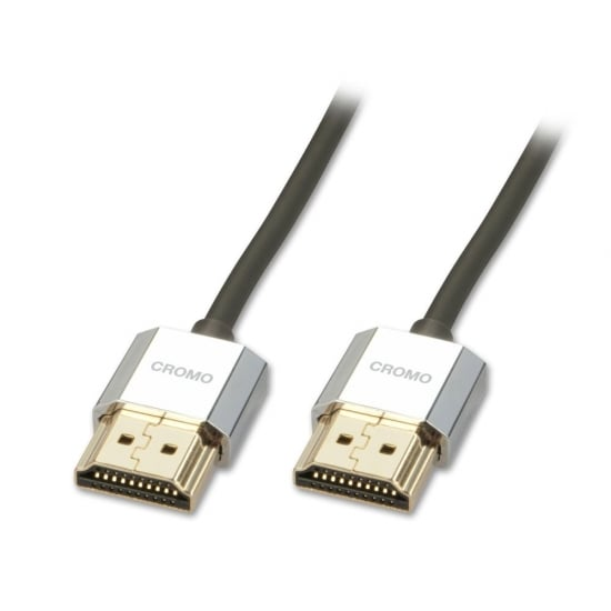 0.3m CROMO Slim High Speed HDMI Cable with Ethernet