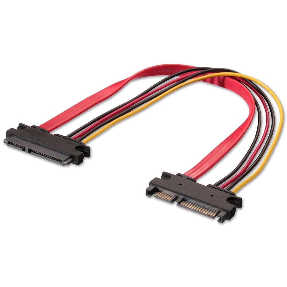 03m Internal Sata Extension Cable 22 Pin Male Female Kabel Usb To 30cm High Quality