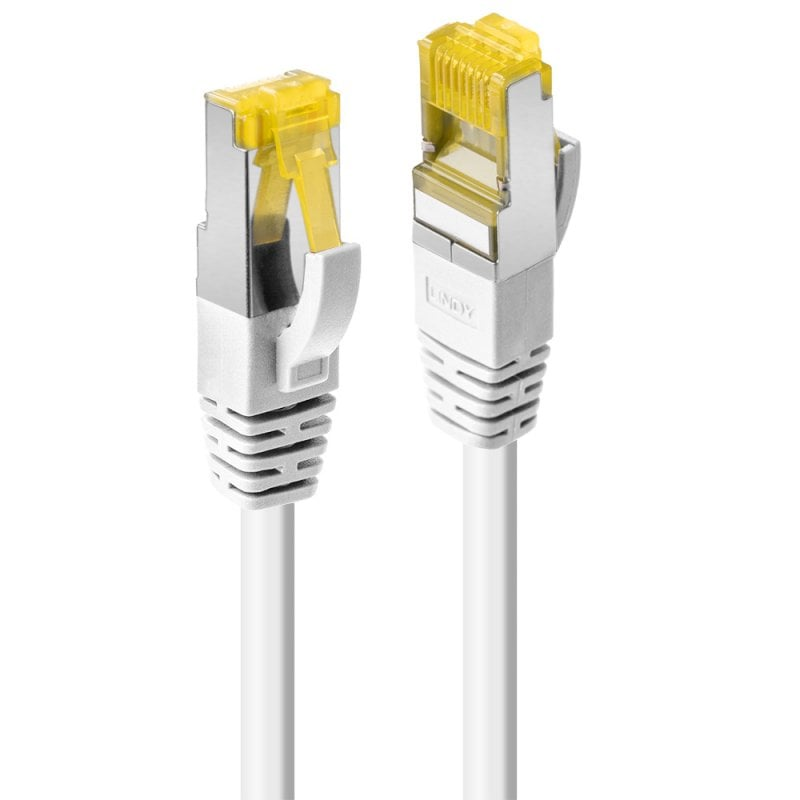 0.3m RJ45 S/FTP LSZH Network Cable, Whie