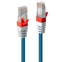 0.5m Cat.6A S/FTP LSZH Network Cable, Blue