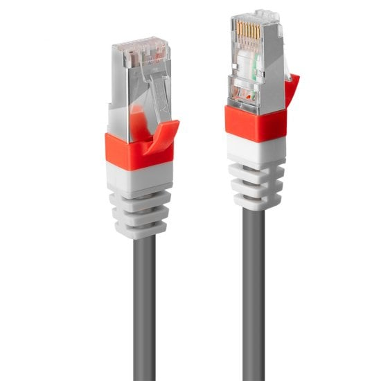 0.5m Cat.6A S/FTP LSZH Network Cable, Grey