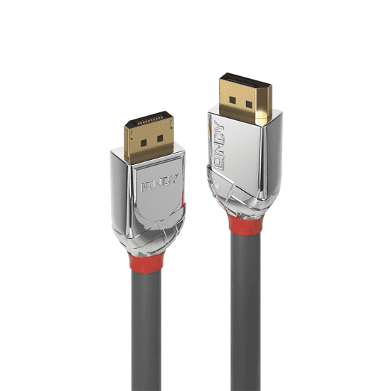 0.5m DisplayPort 1.4 Cable, Cromo Line