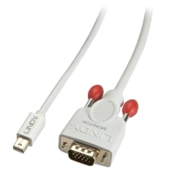 0.5m Mini DisplayPort to VGA Cable, White