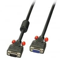 0.5m Premium SVGA Monitor Extension Cable, Black