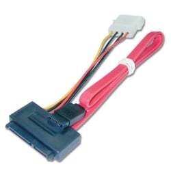 0.5m SATA Cable - Combined Data & Power, Internal