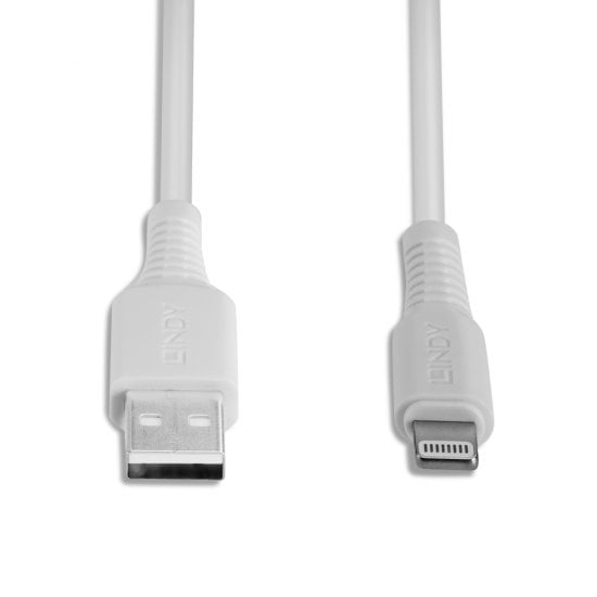 0.5m USB to Lightning Cable, White