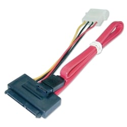 0.7m SATA Cable - Combined Data & Power, Internal