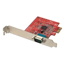 1 Port Serial RS-232, 16C650, 128 Byte FIFO Card, PCIe