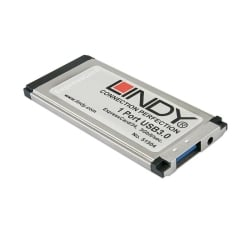 1 Port USB 3.0 Card, ExpressCard/34