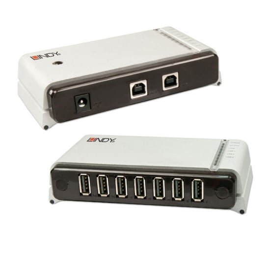100m 7 Port USB 2.0 Cat.5 Extender