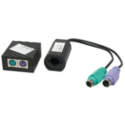 100m CAT5e/6 PS/2 Keyboard & Mouse Extender