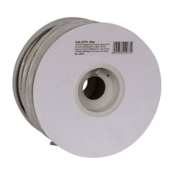 100m Reel CAT6 S/FTP Stranded Bulk Network Cable, Grey