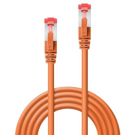 10m Cat.6 S/FTP Network Cable, Orange