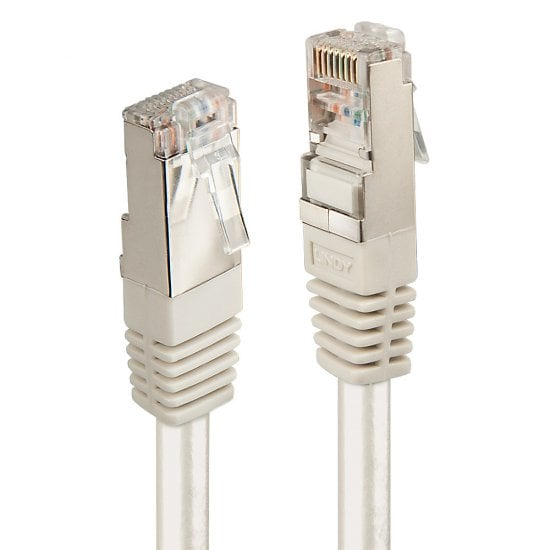 10m CAT6 F/UTP Solid Patch Cable, Grey