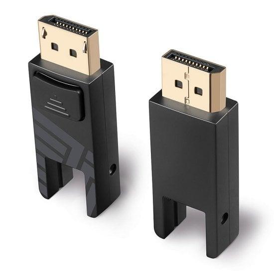 10m Fibre Optic Hybrid Mini DisplayPort 1.4 Cable with Detachable DP Connectors