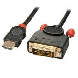10m HDMI To DVI-D Cable, Black