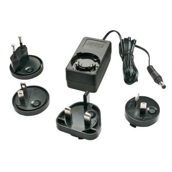 12VDC 1.25A Multi-country Power Supply, 5.5/2.5mm