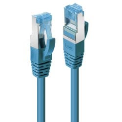 15m Cat.6A S/FTP LSZH Network Cable, Blue