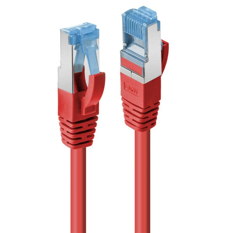 15m Cat.6A S/FTP LSZH Network Cable, Red