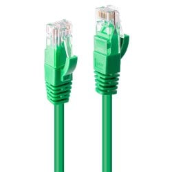 15m CAT6 U/UTP Snagless Gigabit Network Cable, Green
