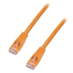 15m CAT6 U/UTP Snagless Gigabit Network Cable, Orange