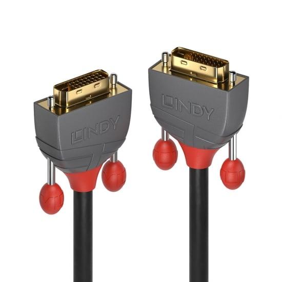 15m DVI-D Dual Link Cable, Anthra Line