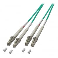 15m Fibre Optic Cable - LC to LC, 50/125µm OM4