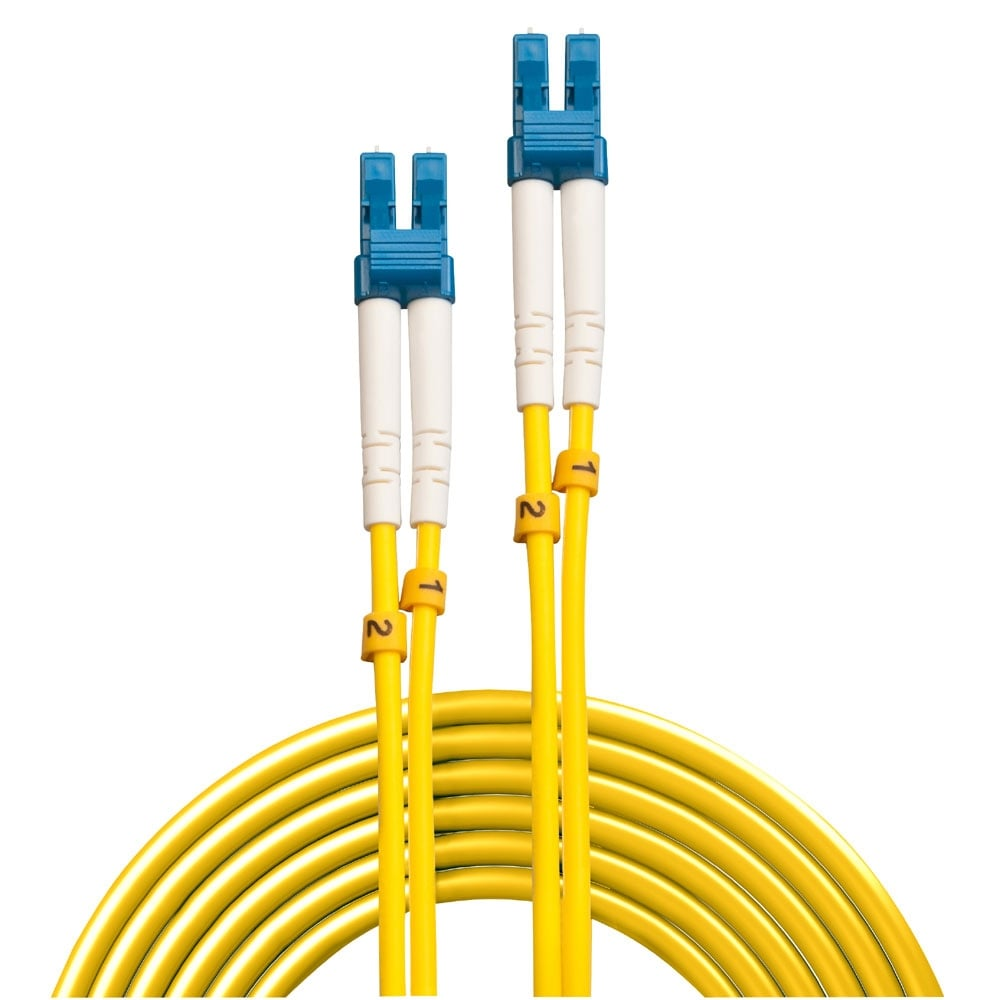 15m Lc Lc Os2 9 125 Fibre Optic Patch Cable From Lindy Uk