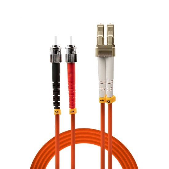 15m LC-ST OM2 50/125 Fibre Optic Patch Cable