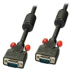15m Premium SVGA Monitor Cable, Black
