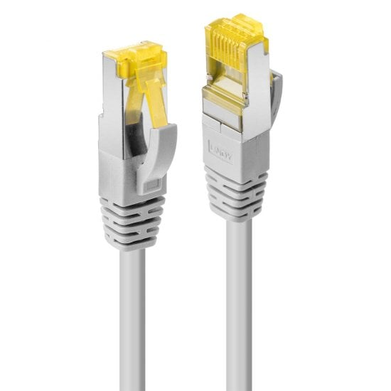 15m RJ45 S/FTP LSZH Network Cable, Grey