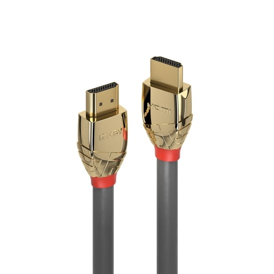 15m Standard HDMI Cable, Gold Line