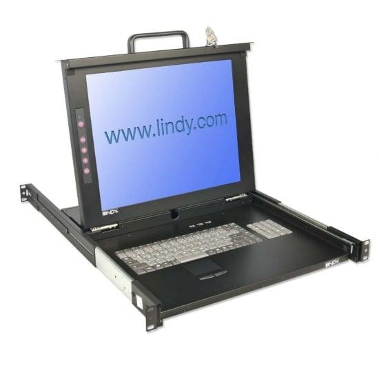 19 Modular KVM Terminal with 17 LCD