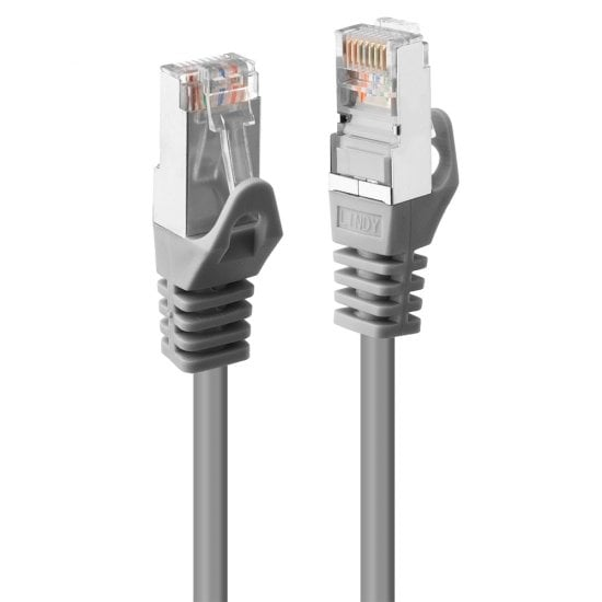 1m Cat.5e F/UTP Network Cable, Gey