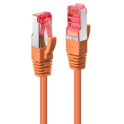1m Cat.6 S/FTP Network Cable, Orange