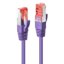 1m Cat.6 S/FTP Network Cable, Purple