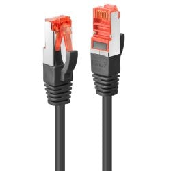 1m Cat.6 S/FTP TPE Network Cable, Black